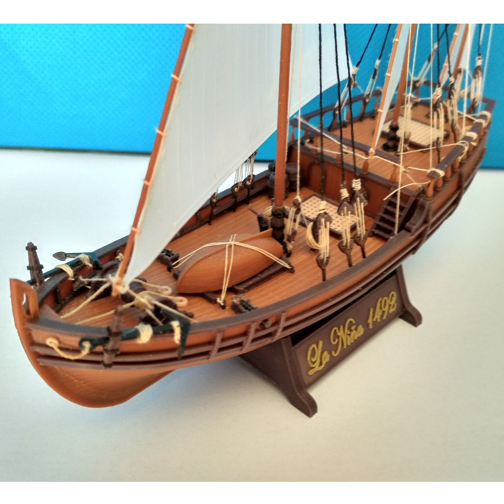 Image031.jpg Download free STL file Columbus caravel Nina (1492) • 3D printer template, tomast