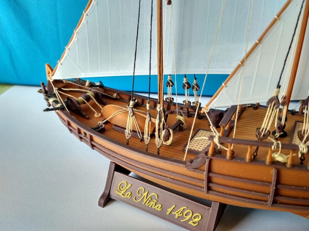 Image024.jpg Download free STL file Columbus caravel Nina (1492) • 3D printer template, tomast
