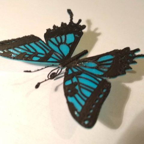 2.jpg Download free STL file Butterfly • 3D printer model, tomast