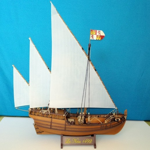 Image020.jpg Download free STL file Columbus caravel Nina (1492) • 3D printer template, tomast