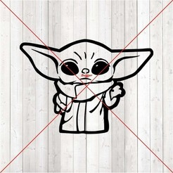 q.JPG Download free STL file Child with The Force • 3D printable design, Duffer1992