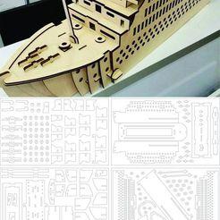t.jpg Télécharger fichier STL navire titanesque • Plan pour impression 3D, Duffer1992