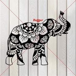 q.JPG Télécharger fichier STL éléphant • Objet à imprimer en 3D, Duffer1992