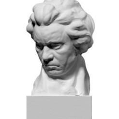 Image0001-5-1-1-278x300.jpg Télécharger fichier STL gratuit Buste Beethoven • Modèle à imprimer en 3D, ThreeDScans