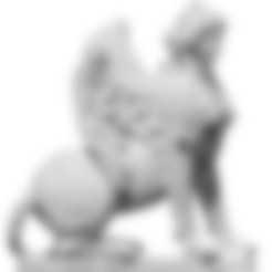 Sphinx_2.stl Download free STL file Sphinx • Template to 3D print, ThreeDScans