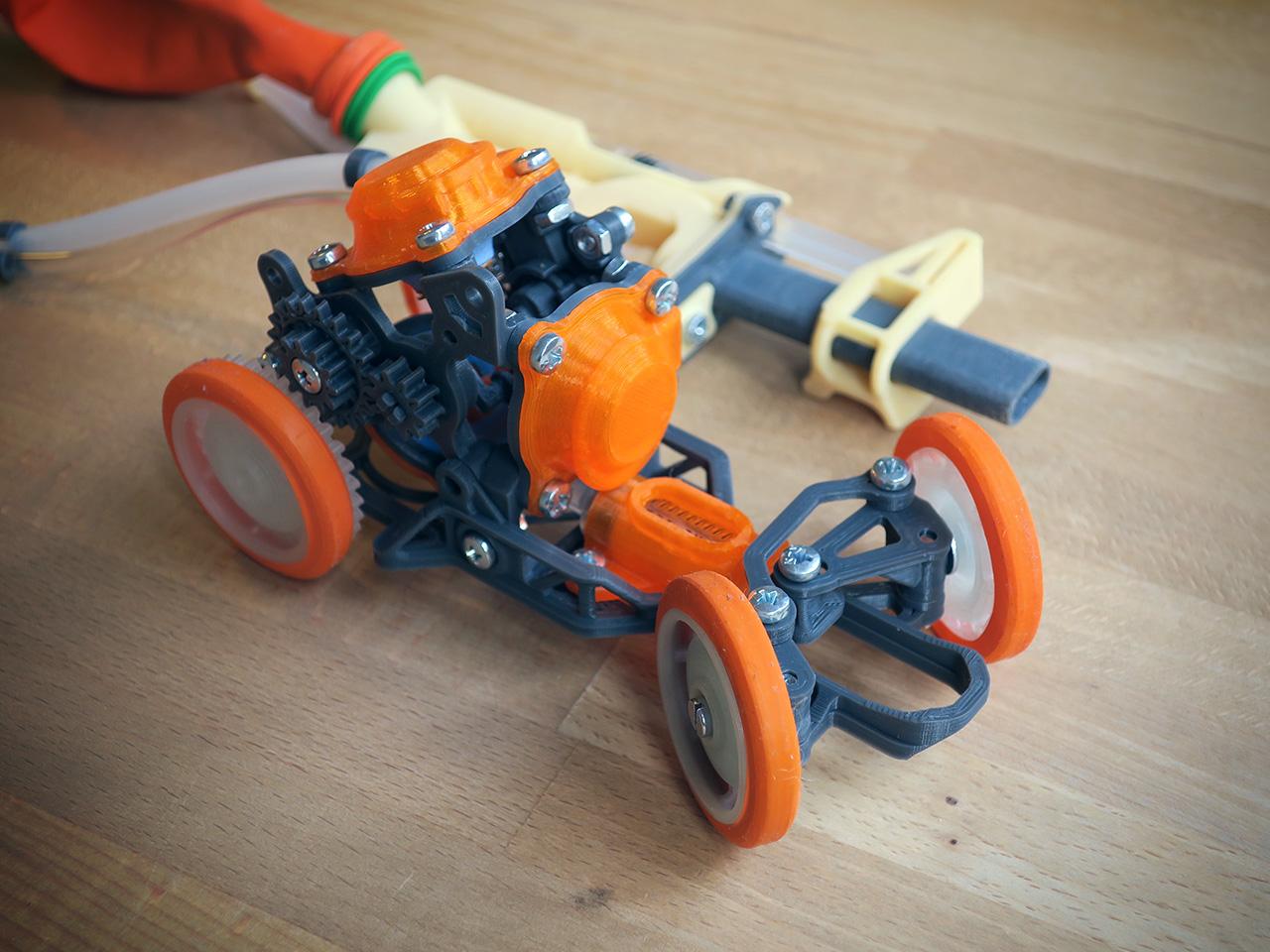 PneuMobile_1.jpg Télécharger fichier STL Pneumobile : Voiture-jouet pneumatique • Plan imprimable en 3D, Slava_Z