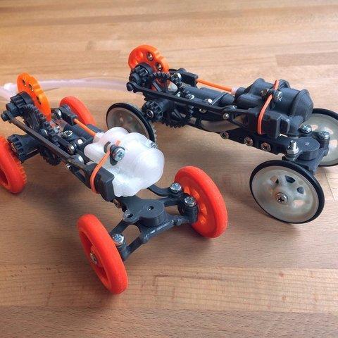 Free 3D print files Vapemobile: Pneumatic Toy Car, Slava_Z