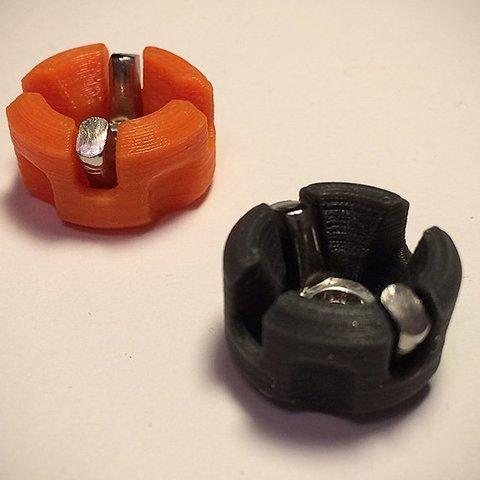 Free 3D printer files M3 Wingnut Bed Thumbwheel, Slava_Z