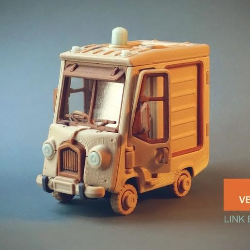 Morris_1_Text.jpg Télécharger fichier STL gratuit Piggy Van Jr • Modèle pour imprimante 3D, Slava_Z