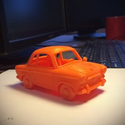 Pony_Main.jpg Download free OBJ file Pony Toy Car • 3D print model, Slava_Z