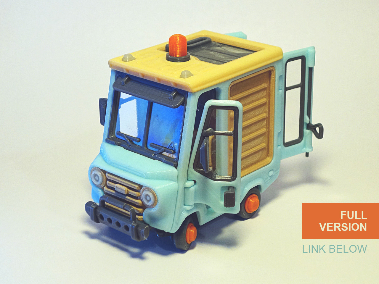 Jr_6.jpg Download free STL file Piggy Van Jr • 3D printing object, Slava_Z