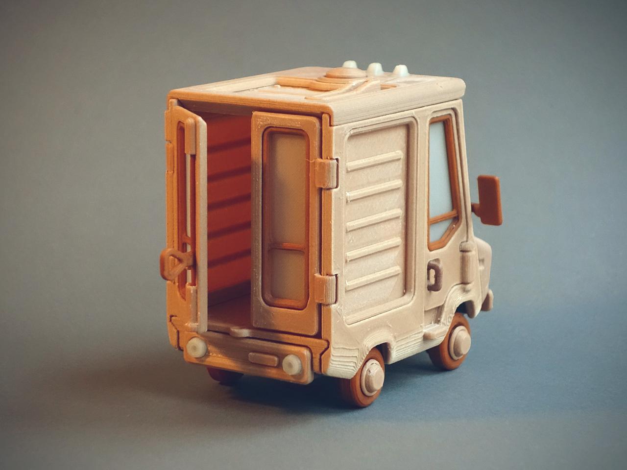 Jr_1.jpg Télécharger fichier STL gratuit Piggy Van Jr • Modèle pour imprimante 3D, Slava_Z