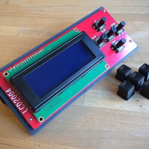 20be04feaa8d3eee57222927e8cee9c1_display_large.jpg Télécharger fichier STL gratuit Boîtier LCD AM8 Anet • Design à imprimer en 3D, Slava_Z