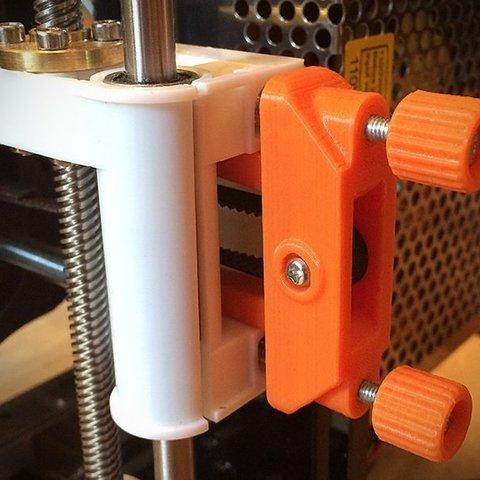 Download free 3D printing designs Anet A8 X Belt Tensioner, Slava_Z
