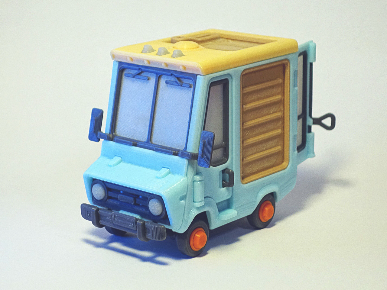 Jr_5.jpg Download free STL file Piggy Van Jr • 3D printing object, Slava_Z