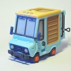 Jr_5.jpg Download free STL file Piggy Van Jr • 3D printing object, Slava_Z