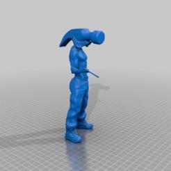 Download free 3D printing models Hammerhead Figure, jarvik7