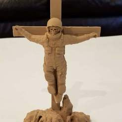 20190226_134509.jpg Download free OBJ file Astronaut on the Cross • 3D printer model, jarvik7