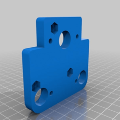 0813eb29ad9284d98079d1244e790474.png Download free STL file adaptor plate for A30 and direct bondtech left hand e3d v6 • 3D print object, apakkapa