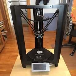 Télécharger objet 3D gratuit Kossel Linear Plus mod Duet Smart Effector Tiges magnétiques, apakkapa
