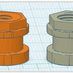 76ee3ad0-756c-490e-8a8d-ed24d1a25071.jpg Download free STL file V6 direct to bowden M5 adapter • 3D printable design, apakkapa