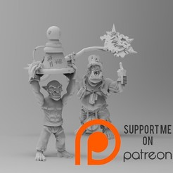 Download free STL file Gobbo lightning rod • 3D printing model, Gustaff