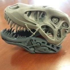 3D printer files tERMINATOR rEX , marcrotchell33