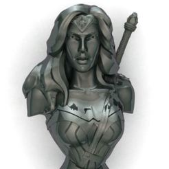 Capture.JPG Download STL file wonder Woman • 3D printer model, surojitpk