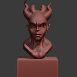 Impresiones 3D chico demonio, surojitpk