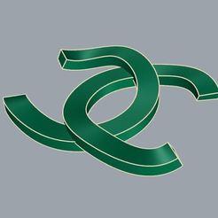 Descargar STL logo link cc, surojitpk