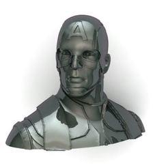 Capture.JPG Télécharger fichier STL captain america • Modèle imprimable en 3D, surojitpk