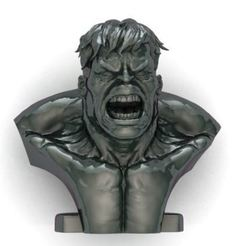 ren.JPG Download STL file hulk • 3D printer object, surojitpk