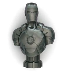 ren.JPG Download STL file iron man ironman • 3D printer object, surojitpk