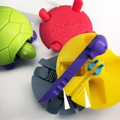Free 3D print files Squishy Turtle, mhristau