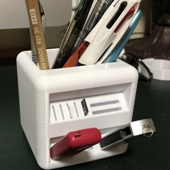 Free 3D model The Little box: Pencil pot, jule3