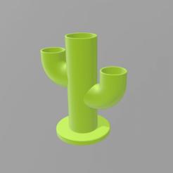 Download STL files cactus flowerpot, nralo