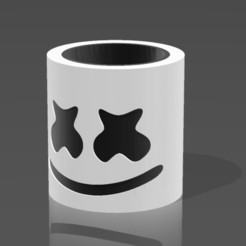 Download free 3D printer templates Mate Marshmello, nralo