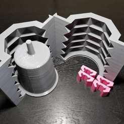 Descargar modelo 3D Molde maceta, nralo