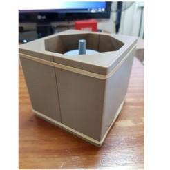 Télécharger fichier imprimante 3D pot de fleur en forme de cube en forme de pot de fleur en forme de vase, nralo