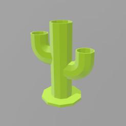 Download STL cactus flowerpot 2, nralo