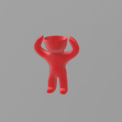 Modelos 3D head man grass 2, nralo