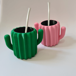ApplicationFrameHost_95RLkRP9cK.png Download STL file matte cactus • Template to 3D print, nralo