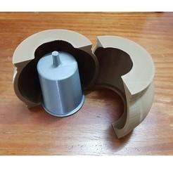 Télécharger fichier imprimante 3D pot de fleurs en forme de sphère en forme de pot de fleurs, nralo