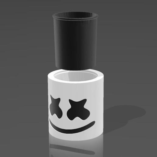 ApplicationFrameHost_2NGThdFTXm.jpg Download 3MF file Mate Marshmello • 3D printing design, nralo