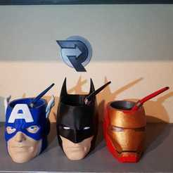 WhatsApp Image 2020-03-01 at 22.33.15 (5).jpeg Télécharger fichier 3MF matt batman + iron man + captain america promotion • Objet pour impression 3D, nralo