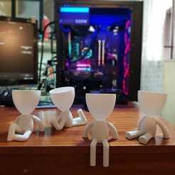 todos.jpeg Télécharger fichier STL KIT POTS PERSONITAS • Design imprimable en 3D, nralo