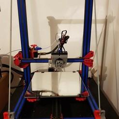 Télécharger plan imprimante 3D gatuit cache profil 20x20, valerybidaux