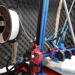 Download free 3D printing templates support bobine sur roulements, valerybidaux