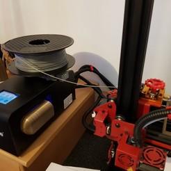 Télécharger fichier imprimante 3D gratuit support bobine pour U20 ou autres, valerybidaux