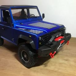 Image from iOS (14).jpg Download STL file Modern Fender and Winch for 3D sets Landy • 3D printing model, DoubekDesign